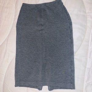American apparel gray pencil skirt XS